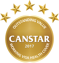 2017 Outstanding Value Working Visa Health Cover