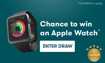 Chance to win an apple watch