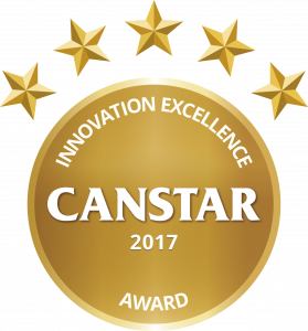 CANSTAR 2017 - Innovation Excellence Award
