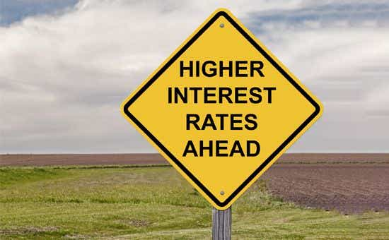 home loans interest rates rise