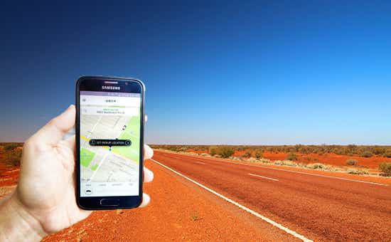 uber in northern territory