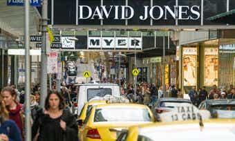 Retail spending up 1 percent