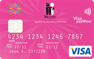 Community First Credit Union McGrath Pink Visa