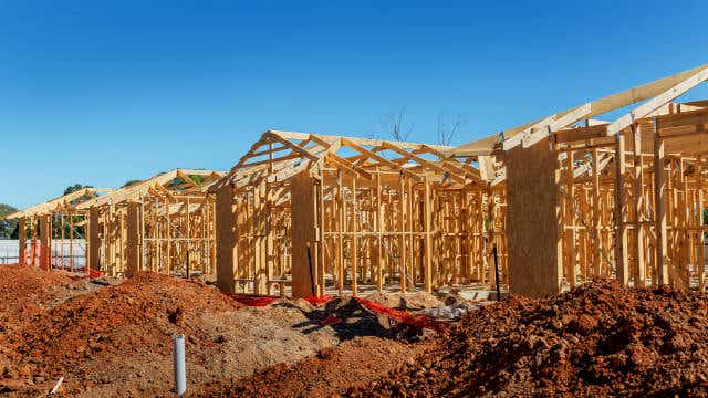 Housing Construction Boom At An End