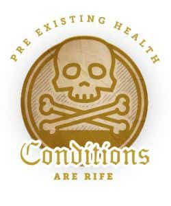 Pre-existing health conditions are rife