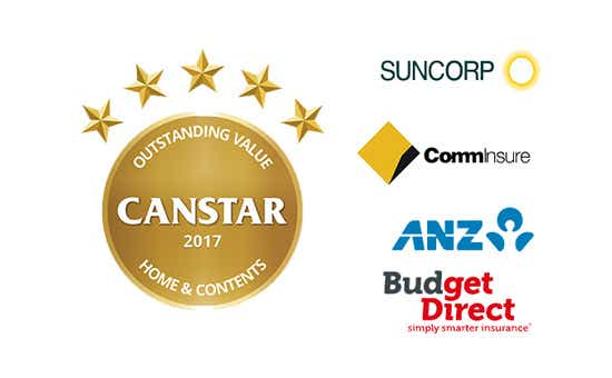 2017 Canstar Home & Contents Insurance Star Ratings