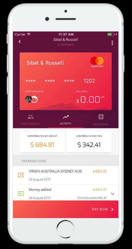 DiviPay mobile app