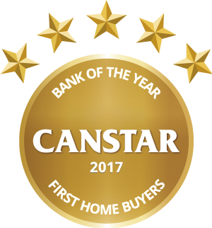 Gold 2017 Bank of the Year First Home Buyers