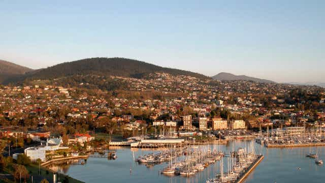 Hobart harbour, big property boom on the horizon for Hobart