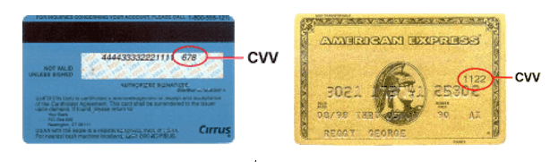 What is a credit card CVV