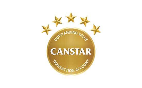 Savings and transaction account star ratings