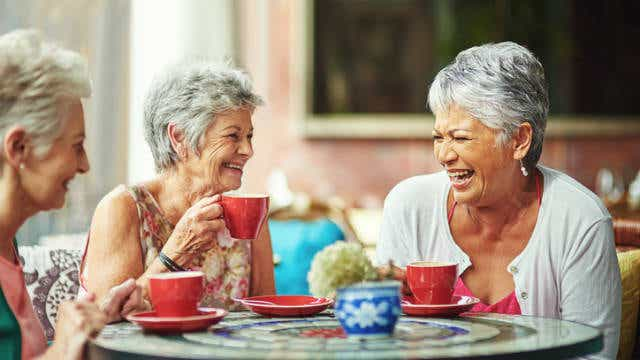 Senior Pension Coffee