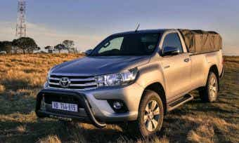 Top selling car November 2017 is the Toyota HiLux