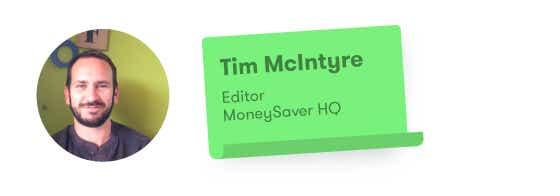Tim McIntyre, MoneySaver HQ