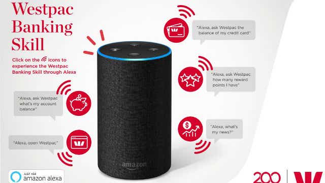 Westpac NAB Amazon Alexa