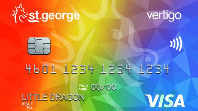 St george bank launches new rainbow vertigo credit cards canstar sgb vertigo visa classic reheart Gallery