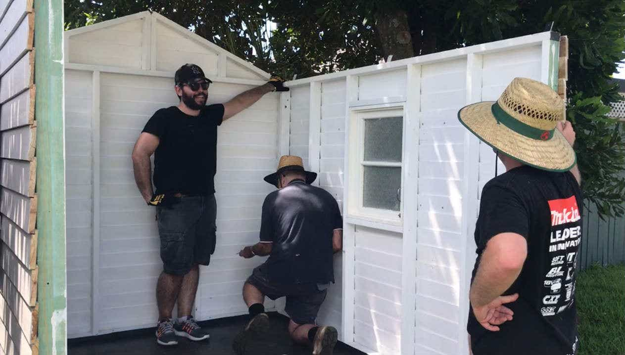 Building cubby