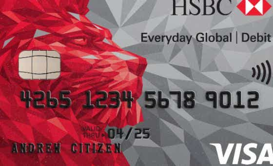 Compare travel credit and debit cards everyday global account hsbc reheart Gallery
