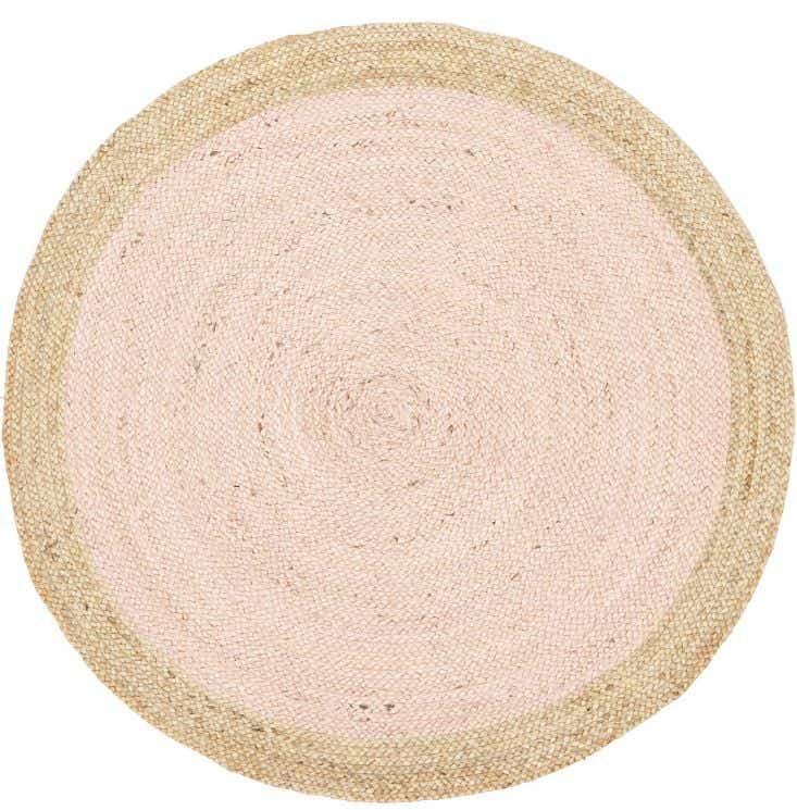 Jute-Natural-Pink-Rug