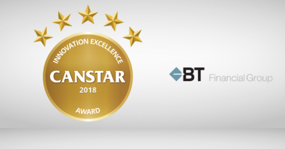 Innovation Excellence Awards 2018: BT Financial Group e-Cert