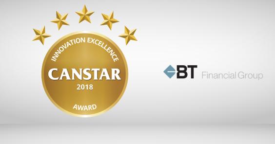 Innovation Excellence Awards 2018: BT Financial Group e-Cert