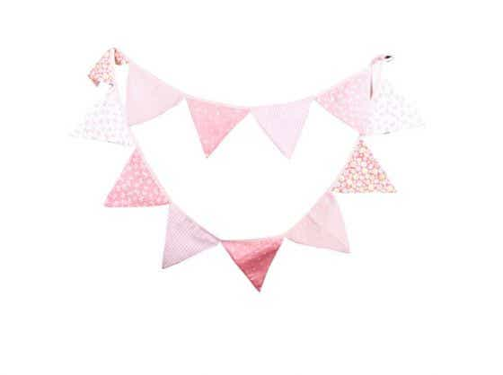 Ebay Pink Bunting Flags