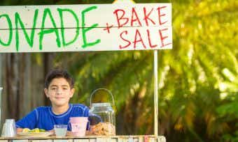 Lemonade Stand Side Hustle