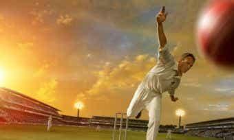 cricket swing bowl