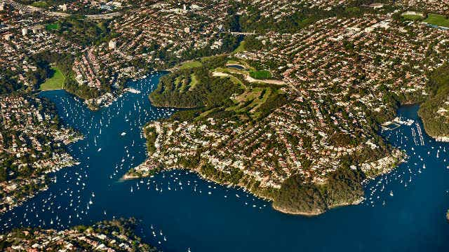 Population update - Sydney aerial view