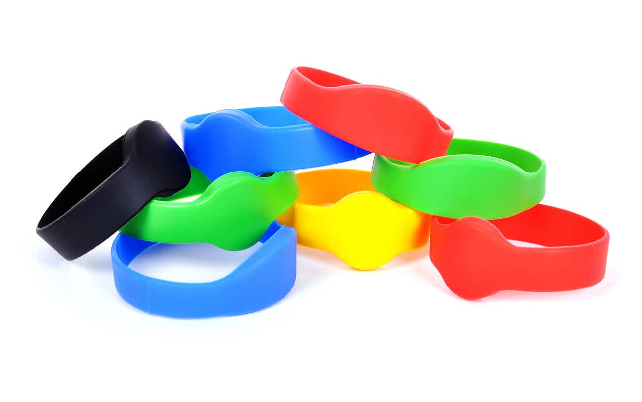 color rfid bracelet
