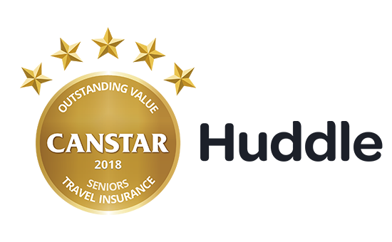 Huddle received the award for Outstanding Value Seniors Travel Insurance in this year's Star Ratings.