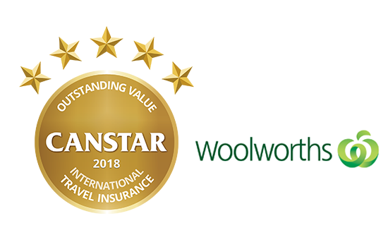 Woolworths was awarded Outstanding Value for international travel insurance in this year's Star Ratings.