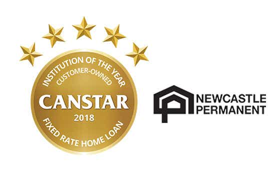 Newcastle Permanent – Customer-Owned Institution of the Year, Fixed Rate Home Loan