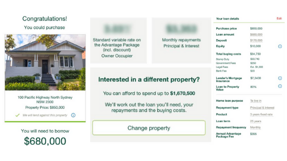 a. St. George home loan application platform