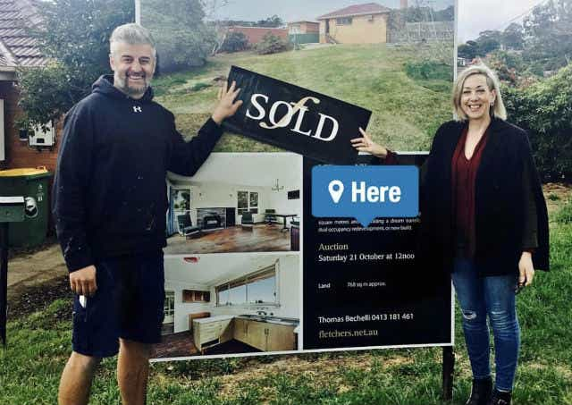 House flipping Australia - Claudia Dmitrovic and her husband Peter
