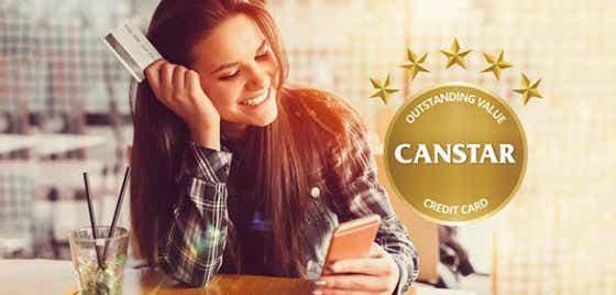 Credit card star rating