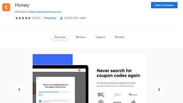 Online shopping hacks to save money_Honey Chrome