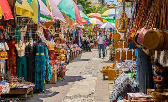 Ubud markets Bali