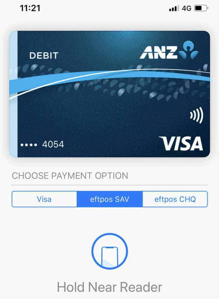 ANZ adds eftpos in Apple Pay