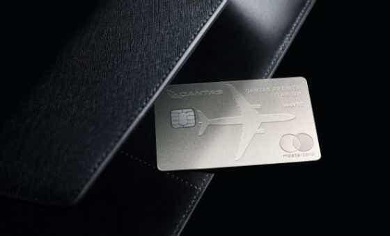 Qantas Premier Titanium credit card launch