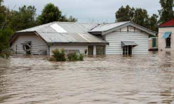 Townsville flood cover