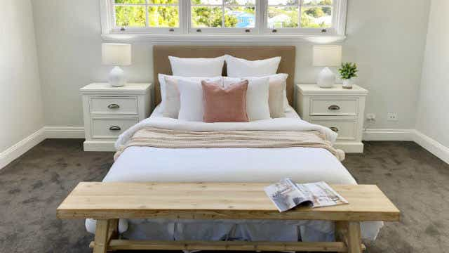 bedroom foxy home staging