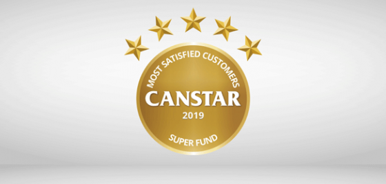 Most Satisfied Customers Super Fund Award   Canstar