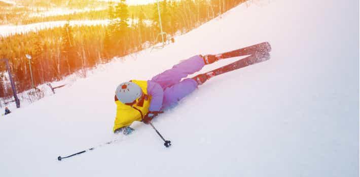 Ski injury