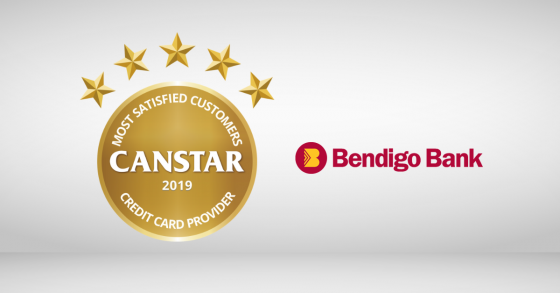 Coming out on top was Bendigo Bank, earning it Canstar's 2019 Most Satisfied Customers Credit Card Provider Award.