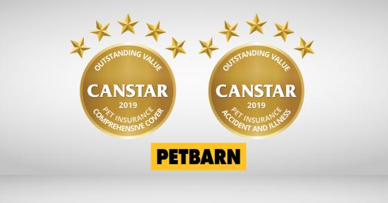 Pet Insurance Award 2019 Petbarn