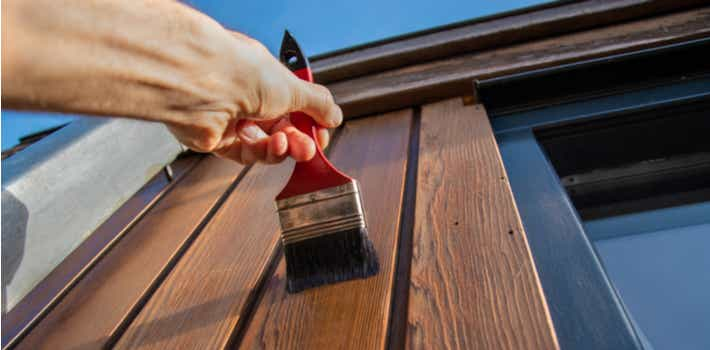 Home renovations painting outside your house
