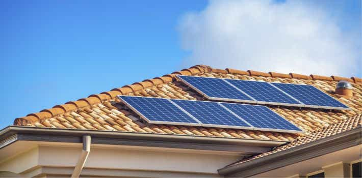 Solar Panels on your roof may conserve power.