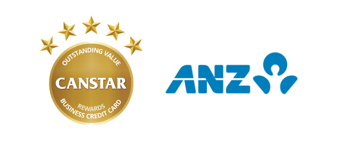 2019 Business Credit Cards Award Winner- ANZ