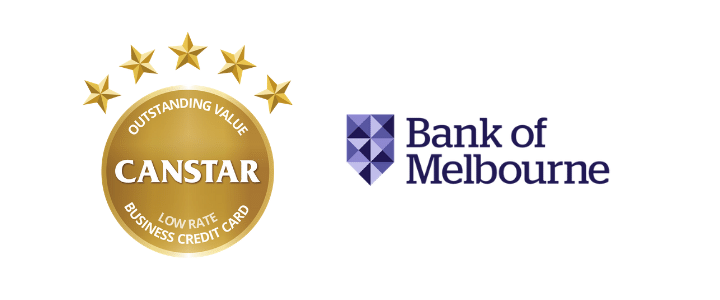 2019 Business Credit Cards Award Winner- Bank of Melbourne